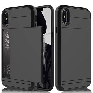 Other - New iPhone X's Max case hidden credit card slot